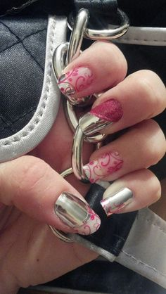 hotnailswithme.jamberrynails.net    A vinyl wrap you put on your nails with a little heat. No dry time! Don't come off until you take them off, again with a little heat. Great for any age. Over 200 colors and styles.