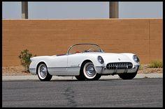 1953 Chevrolet Corvette Roadster Unrestored with 4,300 Miles  #Mecum #Monterey