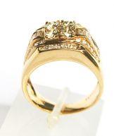 Anel em Ouro 18k ( Rosé ) e Diamantes - R$8500,00