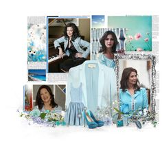 Baby Blue Lynda, created by janeaustenaddict on Polyvore