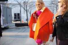 Street Style, Toronto: 17 fashion week shots that prove spring is coming (eventually!) - Sylvia Mantella