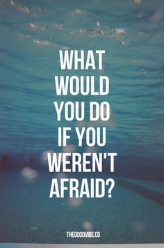 The sky is the limit - don't let fear hold you back! Take a journey with me to see what Nerium can do for you- don't be afraid, you've only got wrinkles to lose! :) http://www.debmark.theneriumlook.com