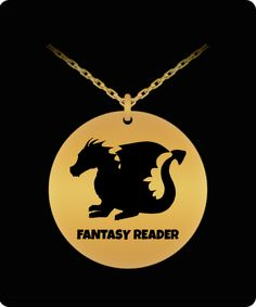 I Believe In Dragons Pendant Fantasy Authors, Dragon Pendant, Laser Engraving, 18k Gold, The Incredibles, Necklaces, Stainless Steel, Dragons, Design