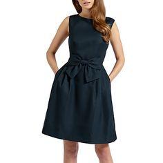 Buy Ted Baker Nuhad Bow Detail Dress Online at johnlewis.com