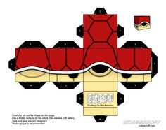 turtle_red_mario___cubeecraft___papercraft_by_marcokobashigawa-d6z1nws.jpg 1,004×795 pixels