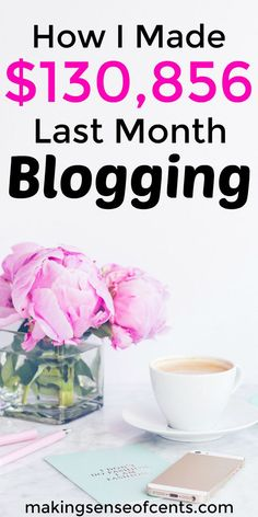 Here's how Michelle made $130,856 last month blogging. In her monthly income reports, she shows you exactly what she's working on, shares her best blogging tips, and more.