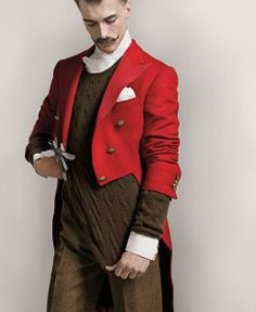 """Love this red coat...  The Terrier and Lobster: """"The Randy Dandy"""""""