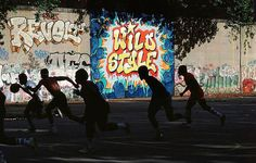 Wild Style mural 1982 (photo by Martha Cooper)