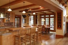 Pole Barn Home's Interior   home interior home interior kitchen tops luxury s x kb jpeg ...