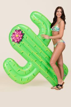 Big Mouth Cactus Pool Float