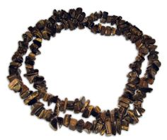 This is a gorgeous Tiger Eye necklace with a length of 90 cm (35 inches)