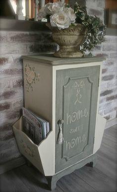 Just love it! Grey Furniture, Shabby Chic Furniture, Shabby Chic Decor, Painted Furniture, Country Paintings, Art Decor, Home Decor, Birthday Decorations, Country Decor