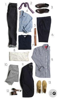 A post-grad wardrobe that won't break the bank.