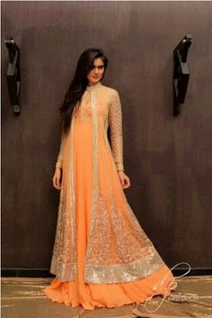 Beautiful indo western gown nd beautiful colour..