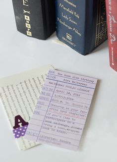 library book card invitation-3