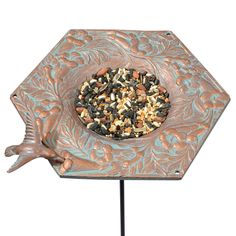 Whitehall Metal Platform Bird Feeder 30061