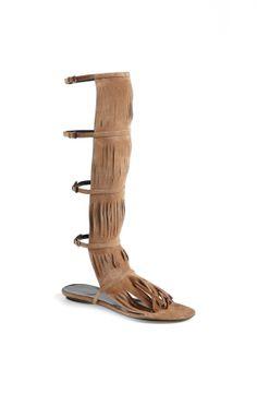 Gucci 'Becky' Fringe Gladiator Sandal | Nordstrom