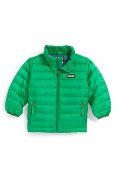 Patagonia Down Sweater Jacket (Baby Boys) available at #Nordstrom