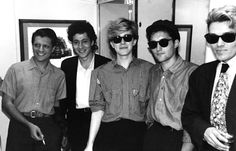 Mick Karn, Richard Barbieri, David Sylvian and Steve Jansen