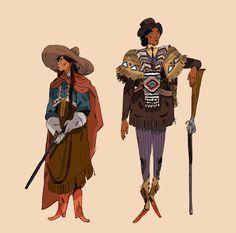Hispanic character design and concept art illustration Fantasy Character Design, Character Concept, Character Inspiration, Character Art, Concept Art, Dnd Characters, Fantasy Characters, Pretty Art, Cute Art