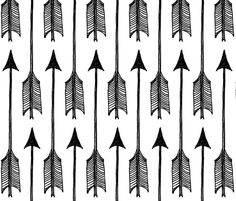 Arrows fabric by dianabrennan on Spoonflower - custom fabric