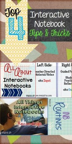 Top 4 Interactive Notebook Tips and Tricks Posts by 4mulaFun: