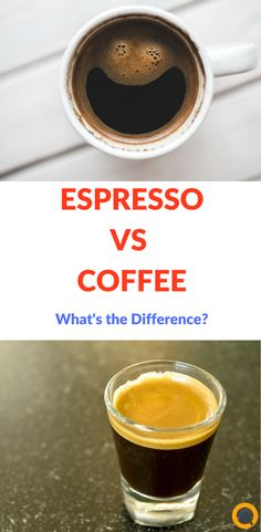 Both coffee and espresso come from the same unroasted green beans. The differences lie with the processing and preparation. Both coffee and espresso come from the same unroasted green beans. The differences lie with the processing and preparation. Little's Coffee, Coffee Pods, Great Coffee, Coffee Beans, Cappuccino Coffee, Morning Coffee, Coffee Maker, Nitro Coffee, Espresso Shot