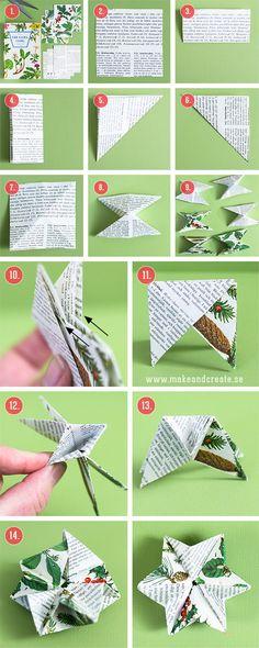 Paper Stars - Crafts & crafts Tips - Make & Create