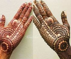 Henna 💕 💅🏻 shared by Naina on We Heart It Palm Mehndi Design, Floral Henna Designs, Mehndi Designs Feet, Beginner Henna Designs, Latest Bridal Mehndi Designs, Legs Mehndi Design, Full Hand Mehndi Designs, Henna Art Designs, Mehndi Designs 2018