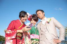 兄妹で自撮り中。お兄ちゃん、おめでとう!!  ウェディングフォト ブライダルフォト Paseo Bridal http://www.onuki.tv/bridal