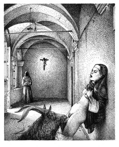 Ilustraciones que encarnan una sexualidad perversa y diabólica
