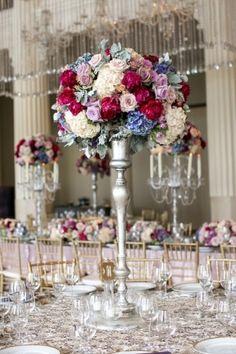 Venue, The Corinthian; Florist and Planner, Todd Events; Photo: Nancy Aidee Photography - Texas Wedding http://caratsandcake.com/KaileyandMichael
