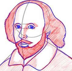 How to draw Shakespeare.