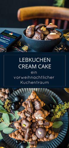 Lebkuchen Cream Cake, Number Cake Weihnachten, Rezept Weinachtskuchen › foodistas.de