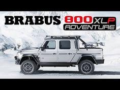 BRABUS 800 Adventure XLP   Geneva 2020 World Premiere - YouTube