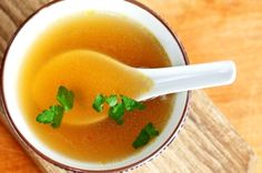 This soup contains anti-cancer ingredients (onions, celery, garlic, ginger, green tea, bok choi), easy-to-digest protein and nutrient-dense broth.