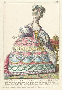 Galerie des Modes, Marie Antoinette