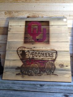 THE University of Oklahoma; Sooner Schooner....