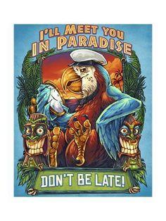 T-Shirt illustration of a parrot and tiki heads marijuana themed Tiki Head, Tiki Totem, Tiki Art, Hawaiian Art, Fantasy Mermaids, Turtle Painting, Cute Coloring Pages, Vintage Mermaid, Pokemon Cosplay