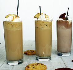 Iced Cookie Coffee by http://babyrockmyday.com/iced-cookie-coffee/