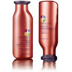Pureology Reviving Red Shampoo and Conditioner – Make Red Hair MORE Vibrant