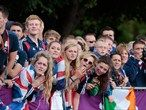 Crowds line the streets to watch world-class sport
