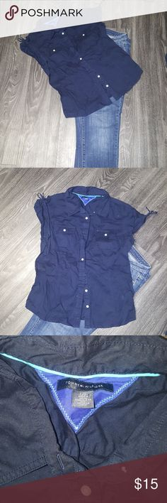 Women's Top Tommy Hilfiger  Sz Lrg Tommy Hilfiger Tops Button Down Shirts