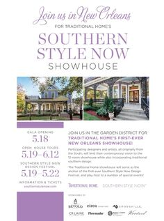 Southern Style Now - Design Chic