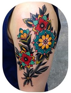 Flowers Becca Genné-Bacon The End Is Near/Hand of Glory Tattoo Brooklyn New York