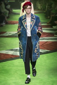 770a561293bb5 Gucci Spring Summer 2017 Menswear