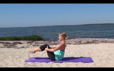 Total Pilates- At the Beach--This No-Equipment Full-Length Workout Works the Whole Body!--My Own Balance--Balance Barre Fitness
