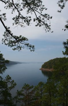 Lake Ouachita, the largest lake in Arkansas is surrounded by Ouachita National Forest near Hot Springs. The lake is deep & crystal clear making it ideal for diving, fishing & watersports. The near-pristine coastline, along with it's 100+ uninhabited islands are perfect for hiking & camping. The lake is also a wintering ground for the American Bald Eagle.