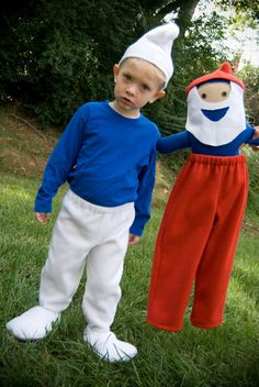 Smurf Costume for boys Sizes 6month to 4T by LaLooDesigns on Etsy