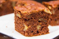 Negresa Cu Nuci Banana Bread, Food And Drink, Sweets, Diet, Desserts, Recipes, Crafts, Mascarpone, Pie